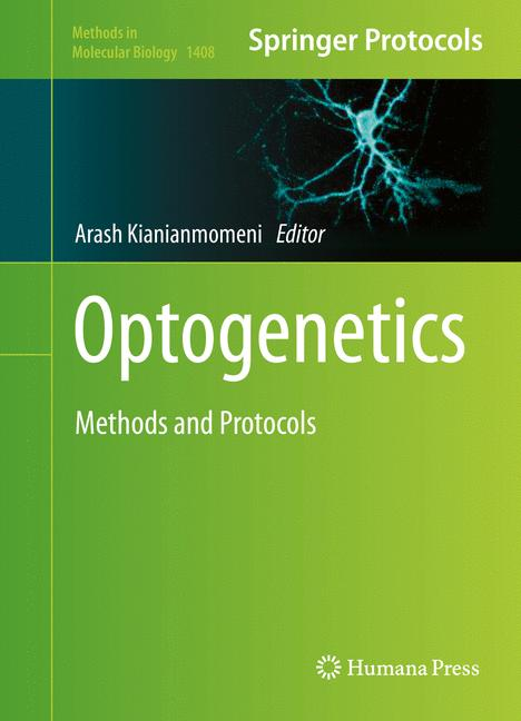 Cover of 'Optogenetics'