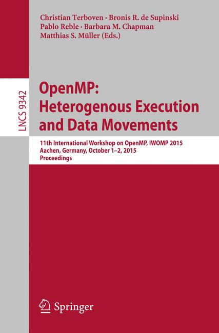 Cover of 'OpenMP: Heterogenous Execution and Data Movements'
