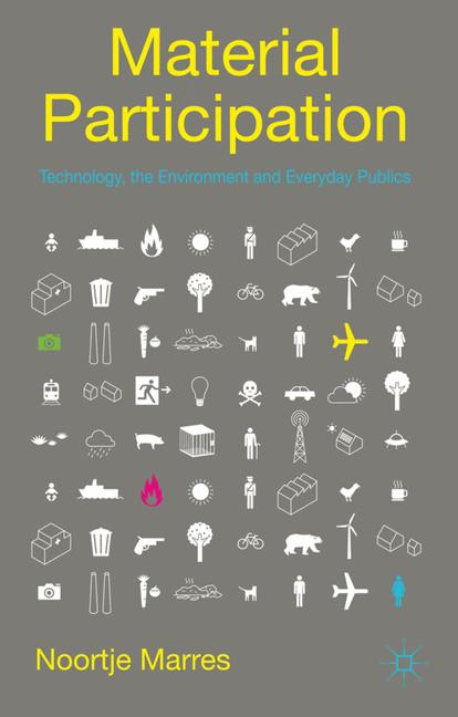 Cover of 'Material participation : technology, the environment and everyday publics'