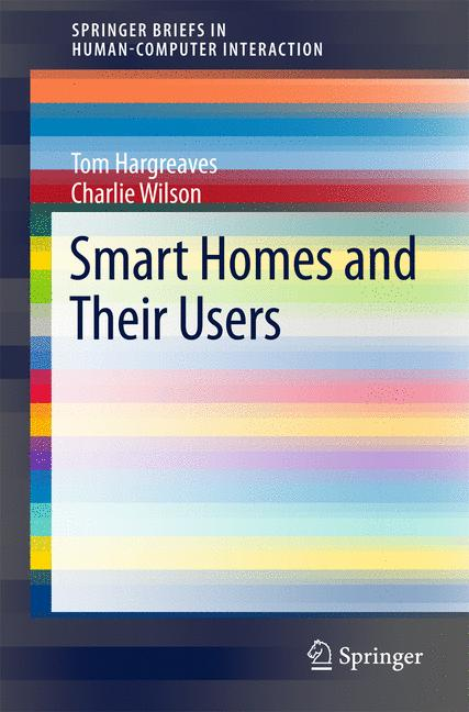 Cover of 'Smart Homes and Their Users'