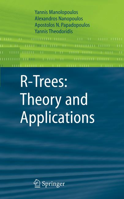 Cover of 'R-Trees: Theory and Applications'