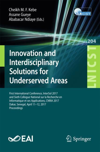 Cover of 'Innovation and Interdisciplinary Solutions for Underserved Areas'