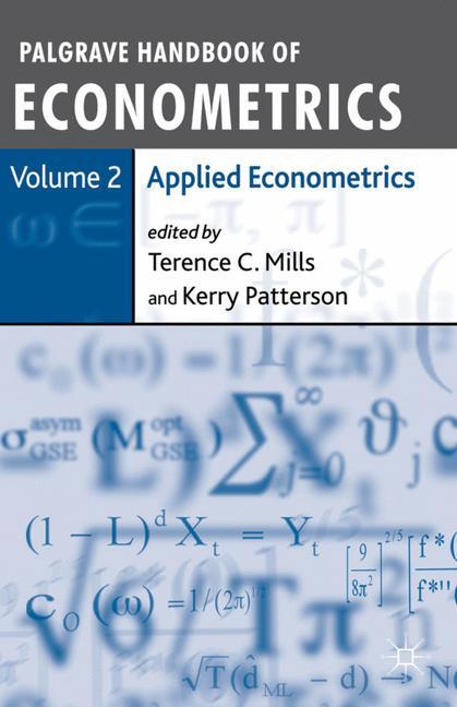 Cover of 'Palgrave handbook of econometrics'