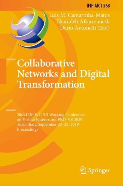 Cover of 'Collaborative Networks and Digital Transformation'