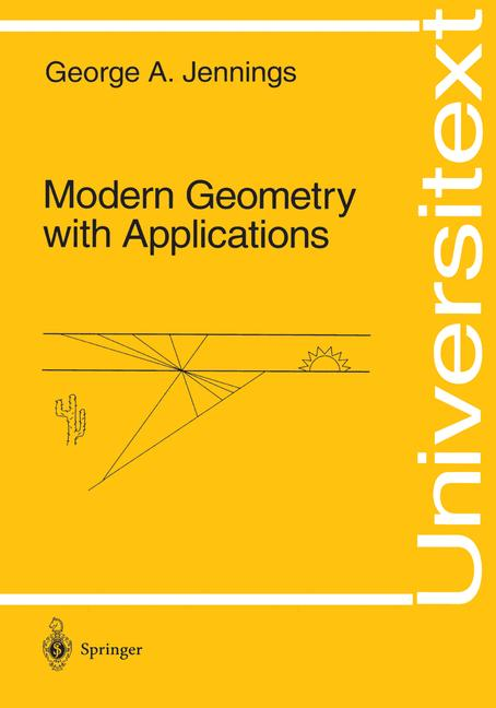 Cover of 'Modern geometry with applications'