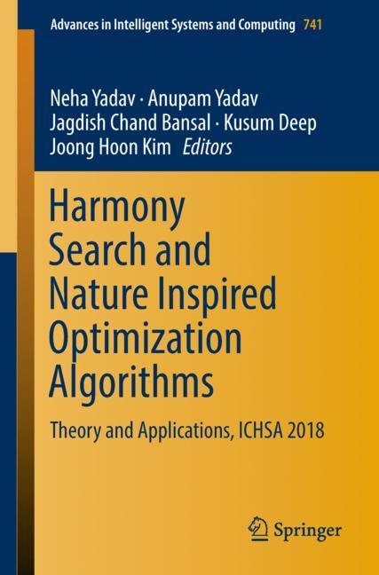 Cover of 'Harmony Search and Nature Inspired Optimization Algorithms'