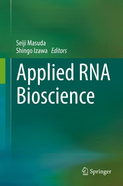 Cover of 'Applied RNA Bioscience'