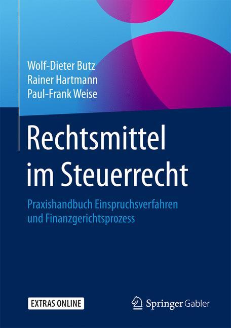 Cover of 'Rechtsmittel im Steuerrecht'