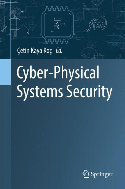 Cover of 'Cyber-Physical Systems Security'