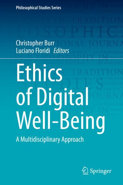 Cover of 'Ethics of Digital Well-Being'