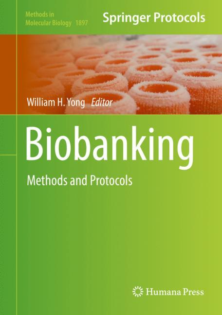 Cover of 'Biobanking'