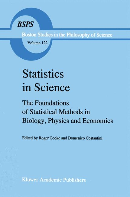 Cover of 'Statistics in Science'