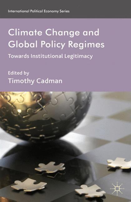 Cover of 'Climate Change and Global Policy Regimes'