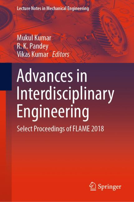 Cover of 'Advances in Interdisciplinary Engineering'