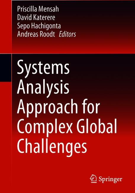 Cover of 'Systems Analysis Approach for Complex Global Challenges'