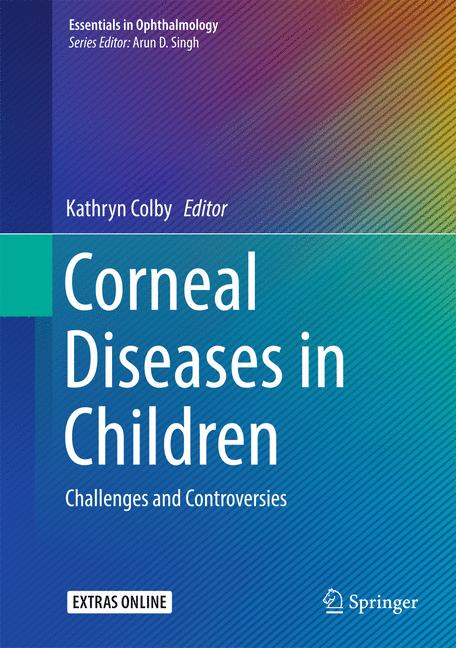 Cover of 'Corneal Diseases in Children'