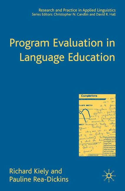Cover of 'Program evaluation in language education'