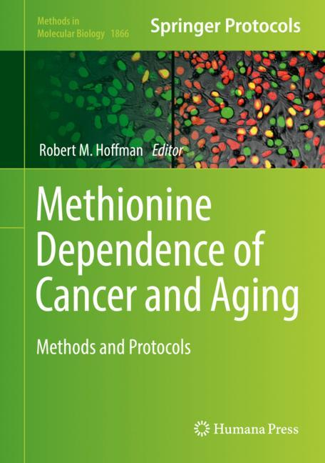 Cover of 'Methionine Dependence of Cancer and Aging'