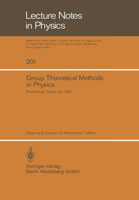 Cover of 'Group Theoretical Methods in Physics'