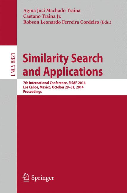 Cover of 'Similarity Search and Applications'
