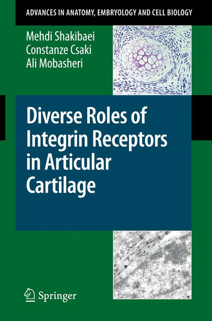 Cover of 'Diverse Roles of Integrin Receptors in Articular Cartilage'