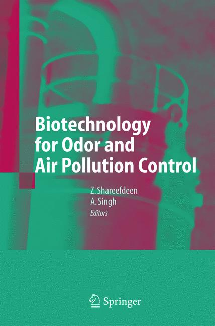 Cover of 'Biotechnology for Odor and Air Pollution Control'