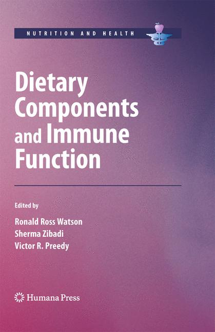 Cover of 'Dietary Components and Immune Function'