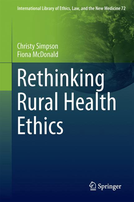 Cover of 'Rethinking Rural Health Ethics'
