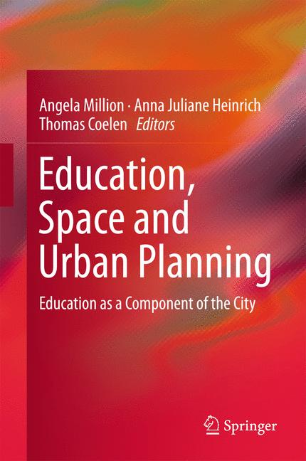 Cover of 'Education, Space and Urban Planning'