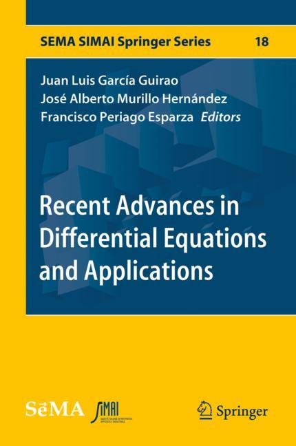 Cover of 'Recent Advances in Differential Equations and Applications'