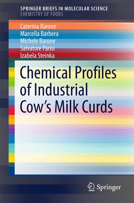 Cover of 'Chemical Profiles of Industrial Cow's Milk Curds'