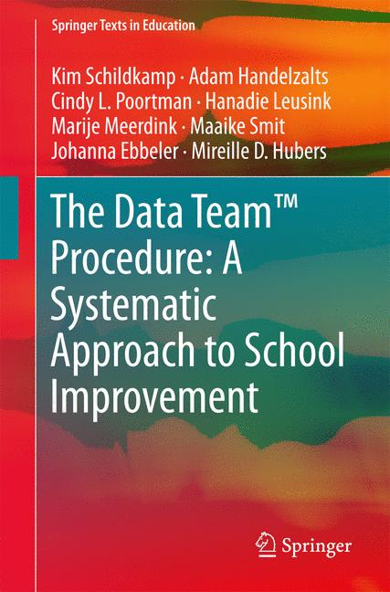 Cover of 'The Data Team™ Procedure: A Systematic Approach to School Improvement'
