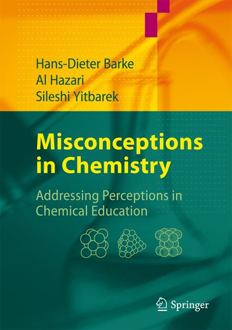 Cover of 'Misconceptions in Chemistry'