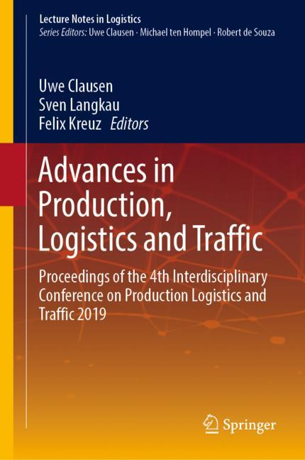 Cover of 'Advances in Production, Logistics and Traffic'