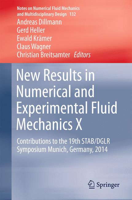 Cover of 'New Results in Numerical and Experimental Fluid Mechanics X'