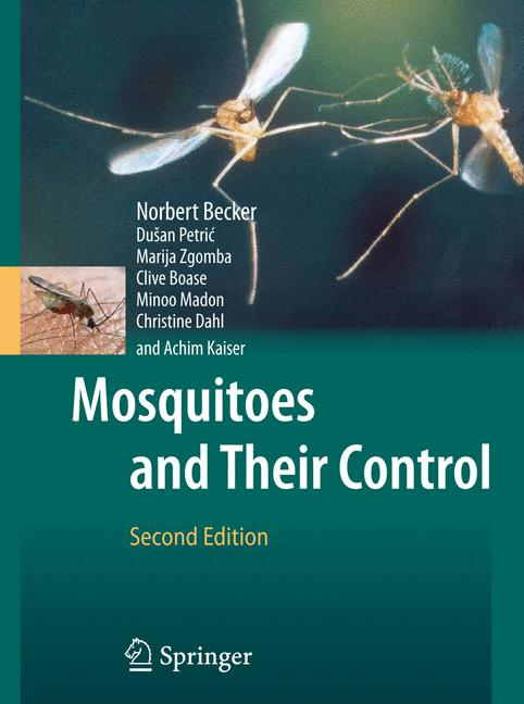 Cover of 'Mosquitoes and their control'