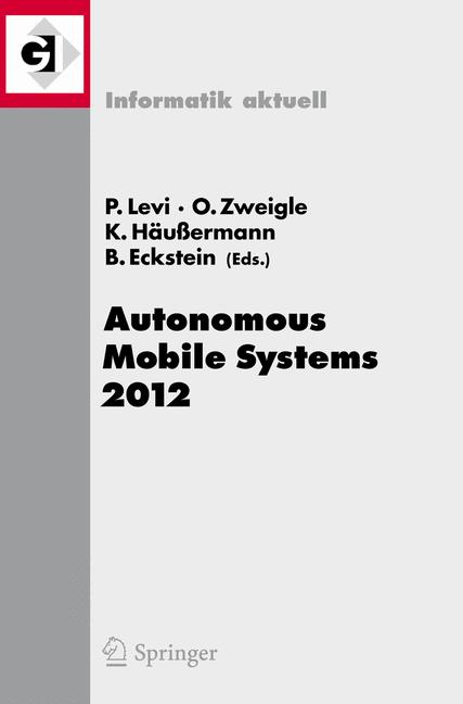Cover of 'Autonomous Mobile Systems 2012'