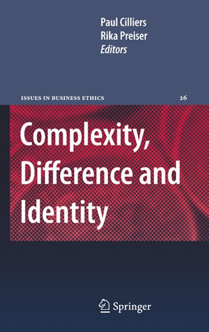 Cover of 'Complexity, Difference and Identity'