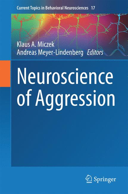 Cover of 'Neuroscience of Aggression'