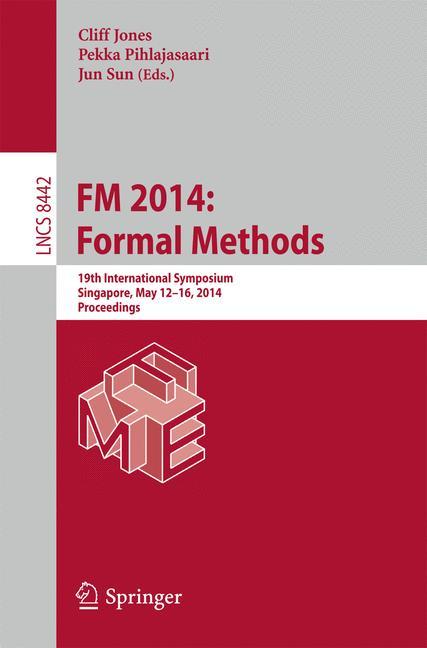 Cover of 'FM 2014: Formal Methods'