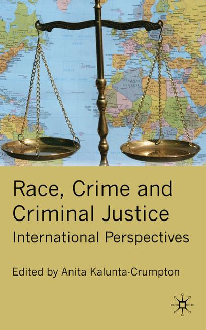 Cover of 'Race, Crime and Criminal Justice'