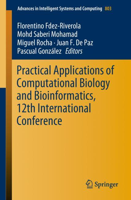 Cover of 'Practical Applications of Computational Biology and Bioinformatics, 12th International Conference'