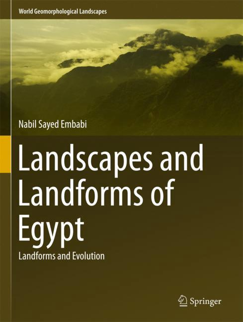 Cover of 'Landscapes and Landforms of Egypt'