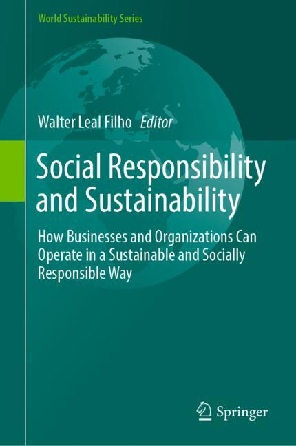 Cover of 'Social Responsibility and Sustainability'