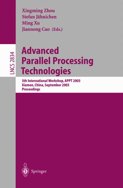 Cover of 'Advanced Parallel Processing Technologies'
