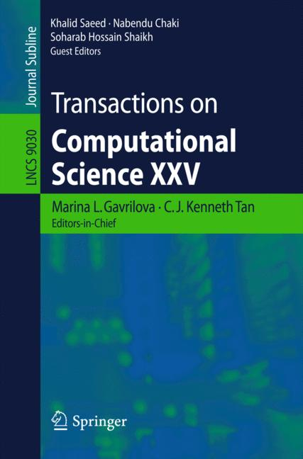 Cover of 'Transactions on Computational Science XXV'