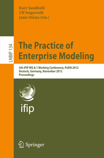 Cover of 'The Practice of Enterprise Modeling'