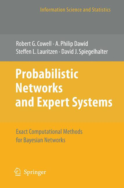Cover of 'Probabilistic Networks and Expert Systems'