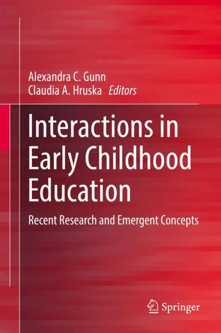 Cover of 'Interactions in Early Childhood Education'