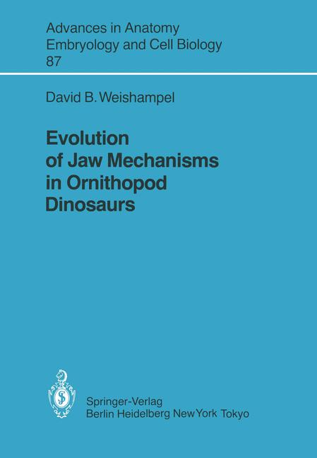 Cover of 'Evolution of Jaw Mechanisms in Ornithopod Dinosaurs'